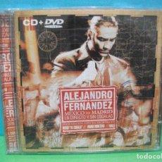 CDs de Música: ALEJANDRO FERNÁNDEZ MÉXICO - MADRID ( DVD + CD ALBUM ) COMO NUEVO¡¡. Lote 142927426