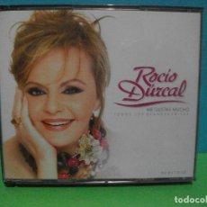 CDs de Música: ROCIO JURADO ME GUSTAS MUCHO DOBLE CD ALBUM + DVD COMO NUEVO¡¡. Lote 142927654
