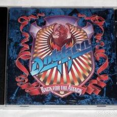CDs de Música: CD DOKKEN - BACK FOR THE ATTACK. Lote 142940118