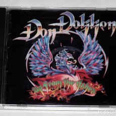 CDs de Música: CD DON DOKKEN - UP FROM THE ASHES. Lote 142940222