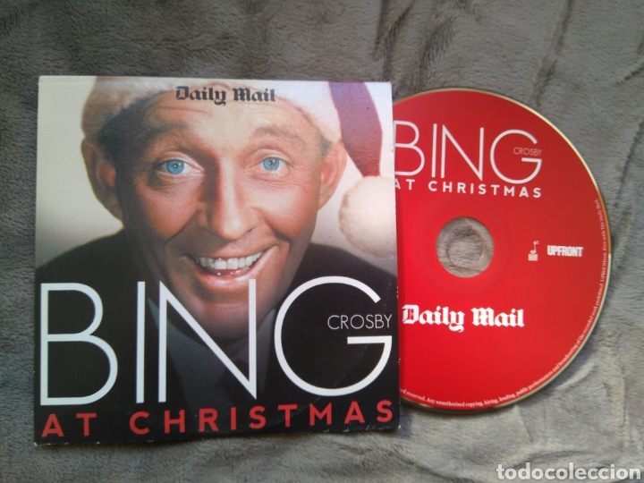 Bing Crosby Christmas Album.Cd Album Bing Crosby At Christmas White Christmas
