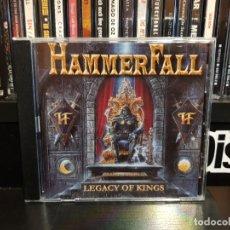 CDs de Música: HAMMERFALL - LEGACY OF KINGS. Lote 142965134