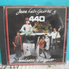 CDs de Música: JUAN LUIS GUERRA Y 4.40 - MUDANZA Y ACARREO ( CD ALBUM ) 1990 COMO NUEVO¡¡. Lote 142967630