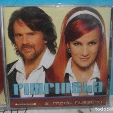 CDs de Música: PIMPINELA - AL MODO NUESTRO - CD ALBUM 2003 COMO NUEVO¡¡ PEPETO. Lote 142968618