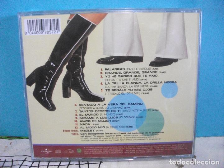CDs de Música: Pimpinela - Al Modo Nuestro - CD ALBUM 2003 COMO NUEVO¡¡ PEPETO - Foto 2 - 142968618