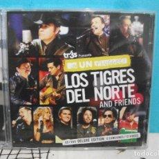 CDs de Música: LOS TIGRES DEL NORTE AND FRIENDS CD ALBUM+ DVD DELUXE EDITION COMO NUEVO¡¡. Lote 142969278