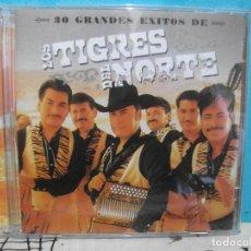 CDs de Música: LOS TIGRES DEL NORTE. 30 GRANDES EXITOS. DOBLE CD ALBUM COMO NUEVO¡¡. Lote 142969430