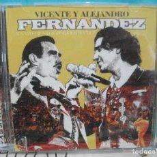 CDs de Música: VICENTE Y ALEJANDRO FERNANDEZ DOBLE CD ALBUM COMO NUEVO¡. Lote 142970342