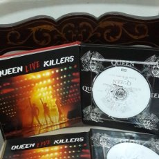 CDs de Música: QUEEN VOL. 1 Y VOL. 2 LIBROS CD QUEEN LIVE KILLERS. Lote 142979845