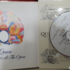 CDs de Música: QUEEN LIBRO CD EMI A NIGHT AT THE OPERA. Lote 142981248