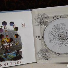 CDs de Música: QUEEN LIBRO CD EMI INNUENDO. Lote 142981814