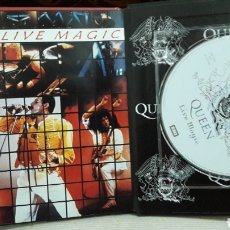 CDs de Música: QUEEN LIBRO CD EMI LIVE MAGIC. Lote 142982049