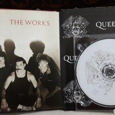 CDs de Música: QUEEN LIBRO CD EMI THE WORKS. Lote 142983052