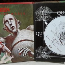 CDs de Música: QUEEN LIBRO CD EMI NEWS OF THE WORLD. Lote 142984933