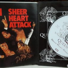 CDs de Música: QUEEN LIBRO CD EMI SHEER HEART ATTACK. Lote 142985192