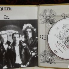 CDs de Música: QUEEN LIBRO CD EMI THE GAME. Lote 142985401