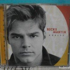 CDs de Música: RICKY MARTIN - VUELVE - CD ALBUM 1998 COMO NUEVO¡¡. Lote 142985978