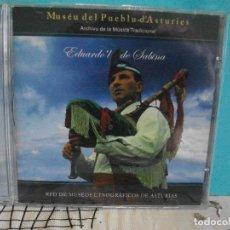 CDs de Música: EDUARDO L DE SABINA ARCHIVO DE LA MUSICA TRADICIONAL ASTURIAS CD ALBUM COMO NUEVO¡¡ PEPETO. Lote 142992246