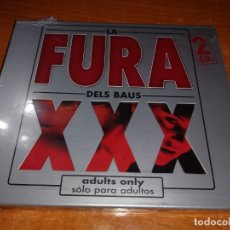CDs de Música: LA FURA DELS BAUS XXX SOLO PARA ADULTOS 2 CD PRECINTADO FANGORIA SEXY SADIE MASTRETTA REMIXES RARO. Lote 142995974