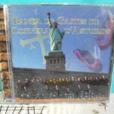 CDs de Música: BANDA DE GAITES DE CORVERA ASTURIES AL DEBALU CD ALBUM ASTURIAS COMO NUEVO PEPETO ¡¡. Lote 142996746