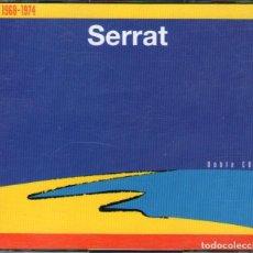 CDs de Música: DOBLE CD ALBUM: JOAN MANUEL SERRAT - ANTOLOGIA 1968-1974 - 24 TRACKS - EDITADO EN USA - RCA 1994. Lote 143000962
