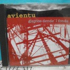 CDs de Música: AVIENTU GLAYIOS DENDE L FONDU CD ALBUM ASTURIAS COMO NUEVO¡¡. Lote 143001378