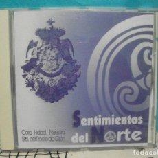 CDs de Música: SENTIMIENTOS DEL NORTE CORO HDAD NUESTRA SRA DEL ROCIO GIJON CD ALBUM ASTURIAS . Lote 143002954