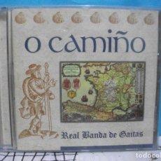 CDs de Música: O CAMIÑO / REAL BANDA DE GAITAS DE ORENSE / RTVE MUSICA / MUSICA DE GAITA / CD COMO NUEVO¡¡ PEPETO. Lote 143004382