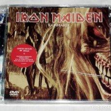 CDs de Música: CD/DVD IRON MAIDEN - RAINMAKER. Lote 143022810