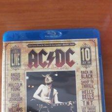 CDs de Música: AC/DC: NO BULL LIVE - PLAZA DE TOROS MADRID BLU-RAY-MAIDEN. Lote 143043506