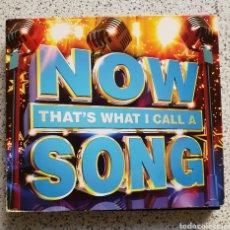 CDs de Música: ESTUCHE 3 CDS THAT WHAT I CALL A SONG NOW. Lote 143063090