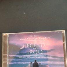 CDs de Música: THE LEGEND OF 1900 ENNIO MORRICONE. Lote 143066726