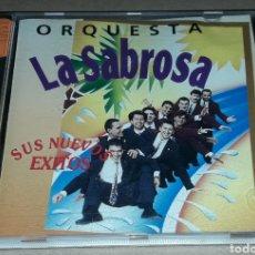 CDs de Musique: CD - ORQUESTA LA SABROSA - SUS NUEVOS ÉXITOS - LA SABROSA. Lote 143073417