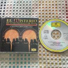 CDs de Música: EL MISTERIO DE SANTO DOMINGO DE SILOS CANTO GREGORIANO 1969 CDS CD MUSICA KREATEN. Lote 143073906