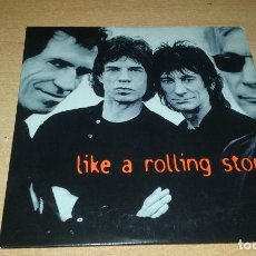 CDs de Música: CD PROMO THE ROLLING STONES. LIKE A ROLLING STONES. VIRGIN 1995. Lote 143082930