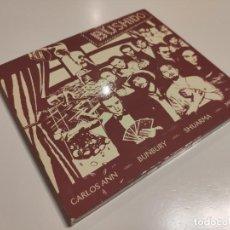 CDs de Música: ENRIQUE BÚNBURY. BUSHIDO. HÉROES DEL SILENCIO.. Lote 143100182
