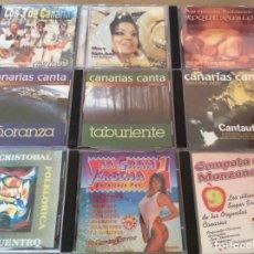 CDs de Música: LOTE 9 CDS MÚSICA CANARIA.. Lote 143139634