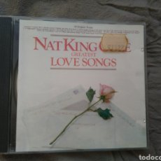 CDs de Música: NAT KING COLE - GREATEST LOVE SONGS - CD ALBUM. Lote 143143645