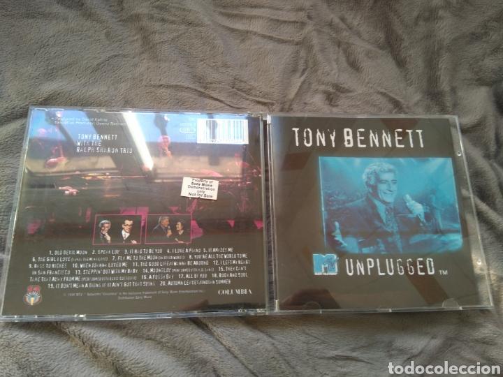 TONY BENNETT - MTV UNPLUGGED - PROMO - CD ALBUM (Música - CD's Melódica )