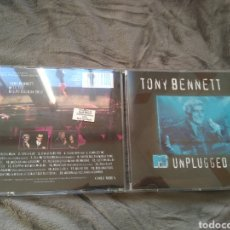 CDs de Música: TONY BENNETT - MTV UNPLUGGED - PROMO - CD ALBUM. Lote 143144464