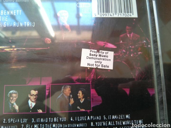 CDs de Música: Tony Bennett - Mtv Unplugged - Promo - Cd album - Foto 2 - 143144464