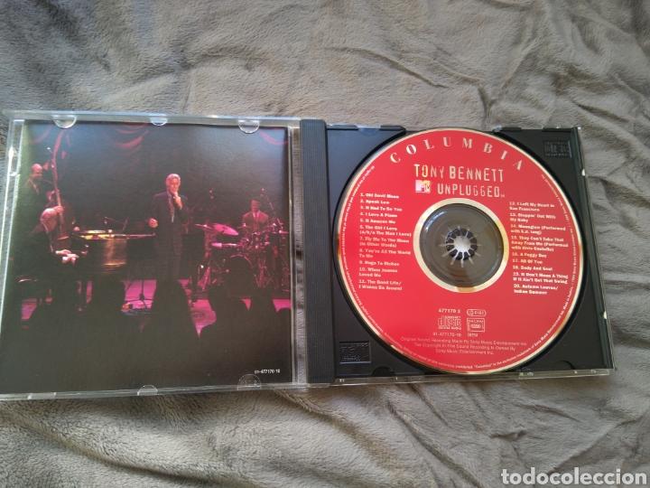 CDs de Música: Tony Bennett - Mtv Unplugged - Promo - Cd album - Foto 3 - 143144464