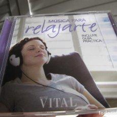 CDs de Música: MÚSICA PARA RELAJARTE . Lote 143161074