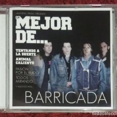 CDs de Música: BARRICADA (LO MEJOR DE... BARRICADA) CD 2013. Lote 143183134