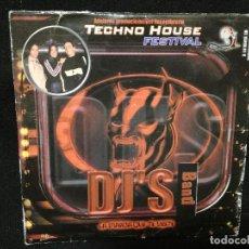 CDs de Música: CD PROMOCIONAL - TECHNO HOUSE FESTIVAL (CAJA DE CARTON). Lote 143189902
