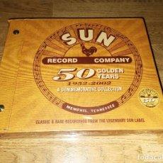 CDs de Música: SUN RECORDS 50 GOLDEN YEARS 8CD + 7 VINYL ELVIS PRESLEY WOODEN BOX 5000 ONLY *NUEVO* RAREZA. Lote 143202982
