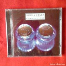 CDs de Música: ENEMIGOS INTIMOS. SABINA Y PAEZ (PRECINTADO). Lote 143251470