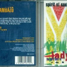 CDs de Música: THE VERY BEST OF LADYSMITH BLACK MAMBAZO-SPIRIT OF SOUTH AFRICA. Lote 143260546