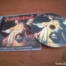 CDs de Música: SUFFERATORY- COMPULSORY MARTYRDOM. Lote 143267334