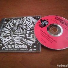 CDs de Música: BROKEN BONES- DEM BONES 83-86. Lote 143268294